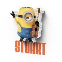 Universal 3D Stuart Mini Minion LED Lights