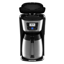 BLACK + DECKER Silver Thermal Coffee Maker