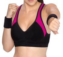 Bestform® Sport Ultimate Gym Bra pink / black 36C