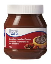 Tartinade de chocolat aux noisettes de Great Value