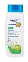 Equate Green Apple 2 in 1 Dandruff Pyrithione Zinc Shampoo