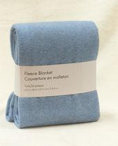 Grey Label Fleece Blanket Blue Twin