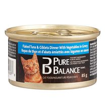 Pure Balance Flaked Tuna & Giblets with Vegetables Cat Food