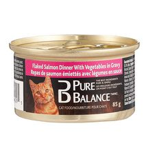 Pure Balance Flaked Salmon with Vegetables Cat Food