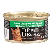 Pure Balance Turkey & Giblets with Vegetables Cat Food
