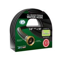 "Crisp-Air 5/8""x50' Premium All Season Water Hose"