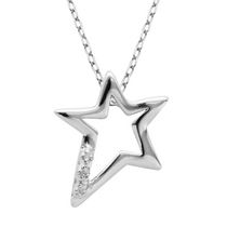 PAJ Sterling Silver Shooting Star Pendant