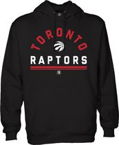 Licensed Tees Men's Toronto Raptors Hoodie L/G