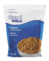 Great Value Roasted & Salted Cashews