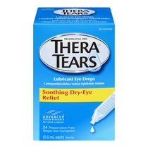 TheraTears® Lubricant Eye Drops, 24 Preservative-Free Single-Use Containers
