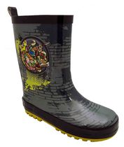 Teenage Mutant Ninja Turtles Big Boys' Rubber Rain Boot 1