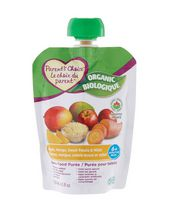 Parent's Choice Organic Apple, Mango, Sweet Potato & Millet Baby Food Purée