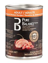 Pure Balance Adult Turkey and Chicken Dog Food