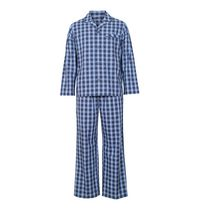 George Men's Woven Two-Piece Set S/P Blue
