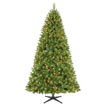 Holiday Time Kennedy™7.5'  Quick Set® Green Christmas Tree with Clear Lights