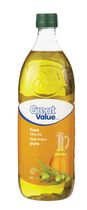 Huile d'olive pure de Great Value