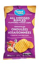 Great Value All Dressed Flavoured Potato Chips