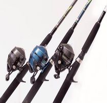 South bend proton spincast combo for Dock demon fishing rod