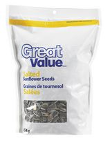 Great Value Salted Sunflower Seeds