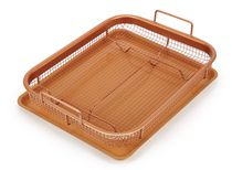 Copper Chef Crisper Non-Stick Basket & Baking Sheet