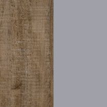 Weathered Oak and Soft Gray