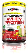 Six Star Whey Protein Plus Unflavoured - 2lbs