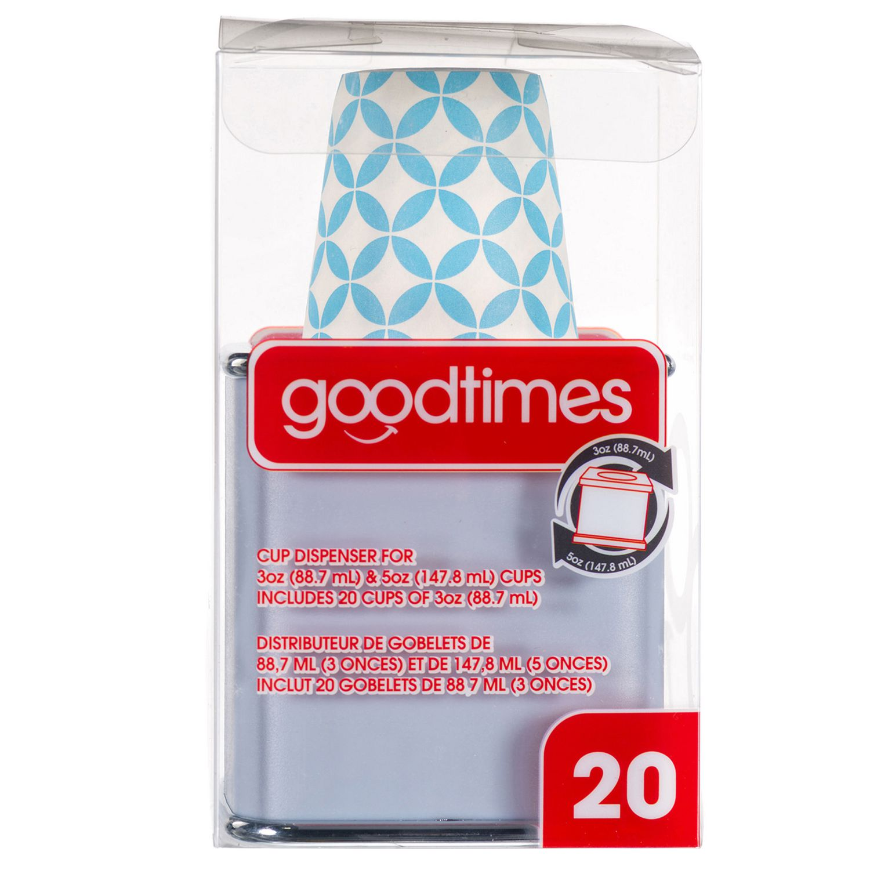 Goodtimes  3oz 5oz Cup Dispenser. Disposable Cups   Walmart Canada