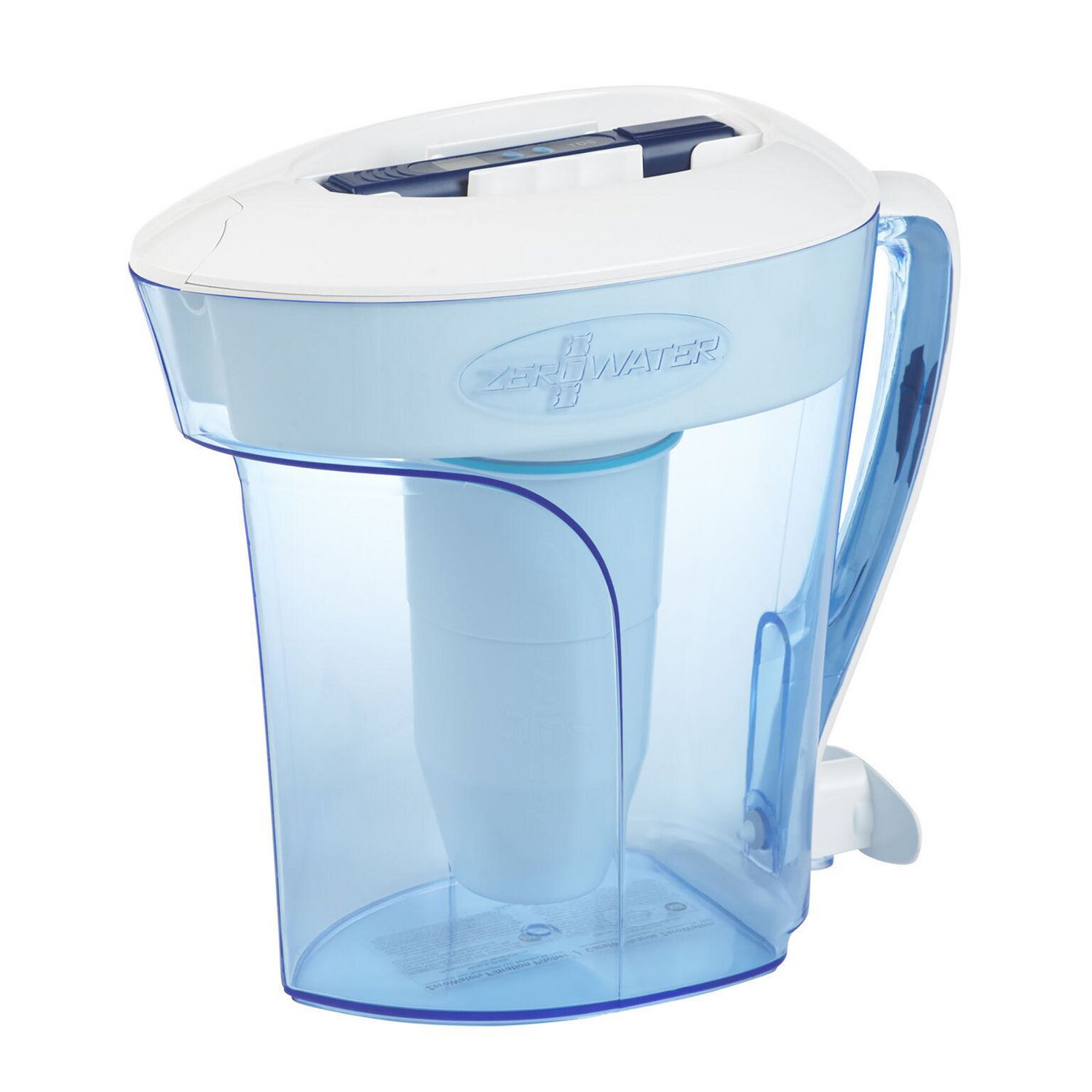 Zerowater 10 Cup Water Filtration Pitcher With Free Tds Meter