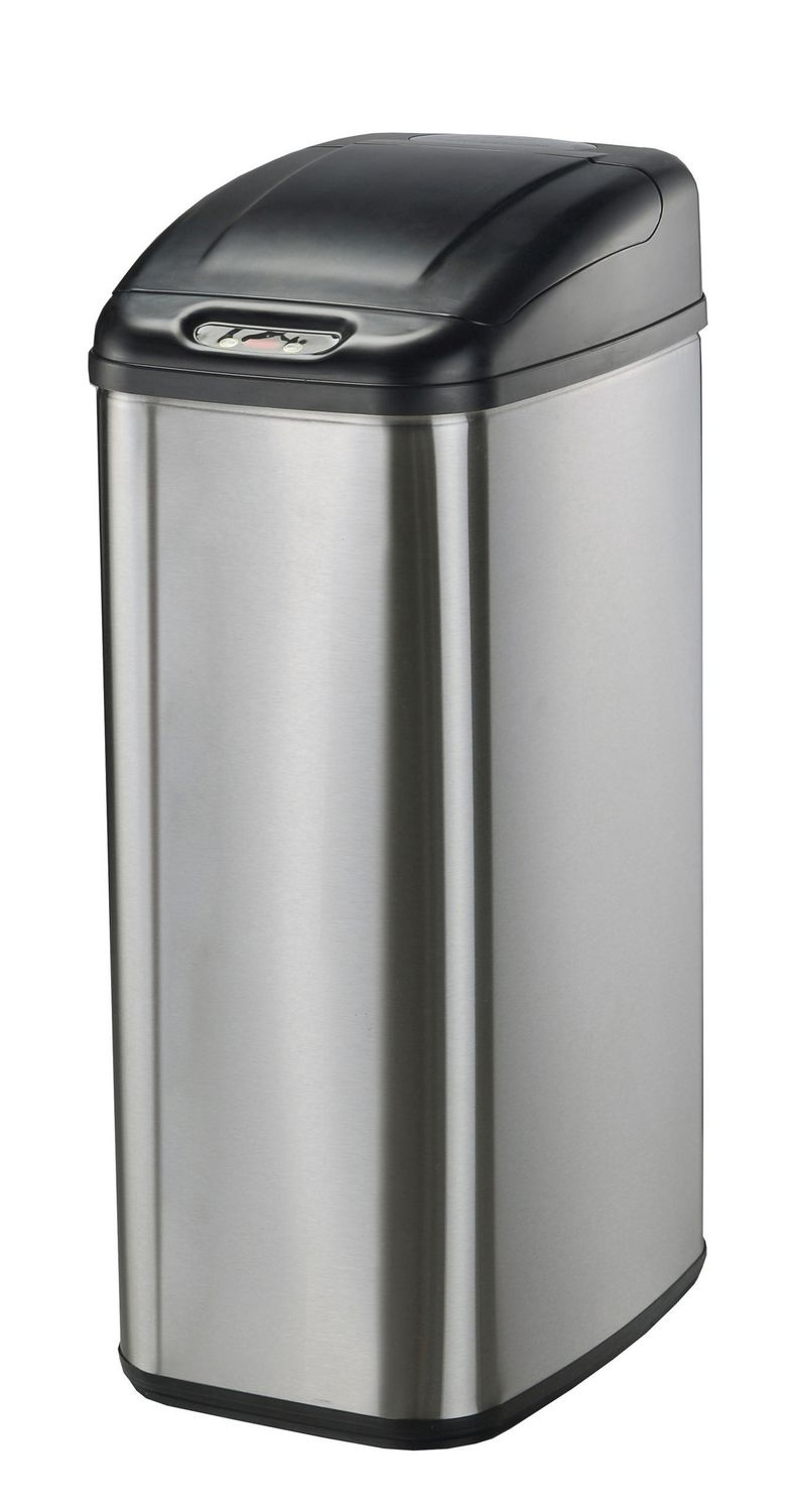 Kitchen Garbage Can Nine Stars Motion Sensor Slim Touchless 132 Gallon Trash Can