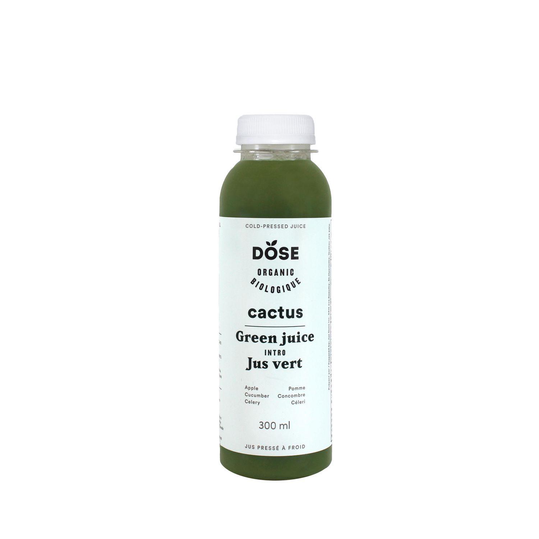 DOSE Cactus Organic Cold Pressed Juice