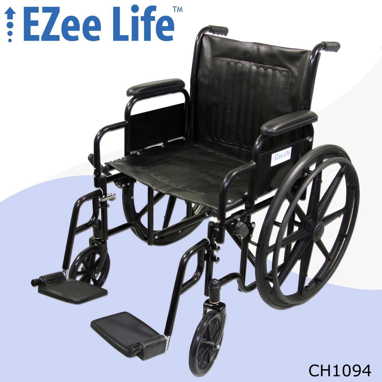 "Ezee Life 20"" Seat Width Standard Wheelchair"
