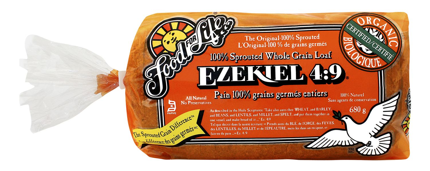 Food For Life Ezekiel 4:9 100% Sprouted Whole Grain Loaf | Walmart Canada