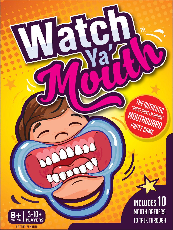 Buffalo Games Watch Ya Mouthguard Party Game Walmart Canada
