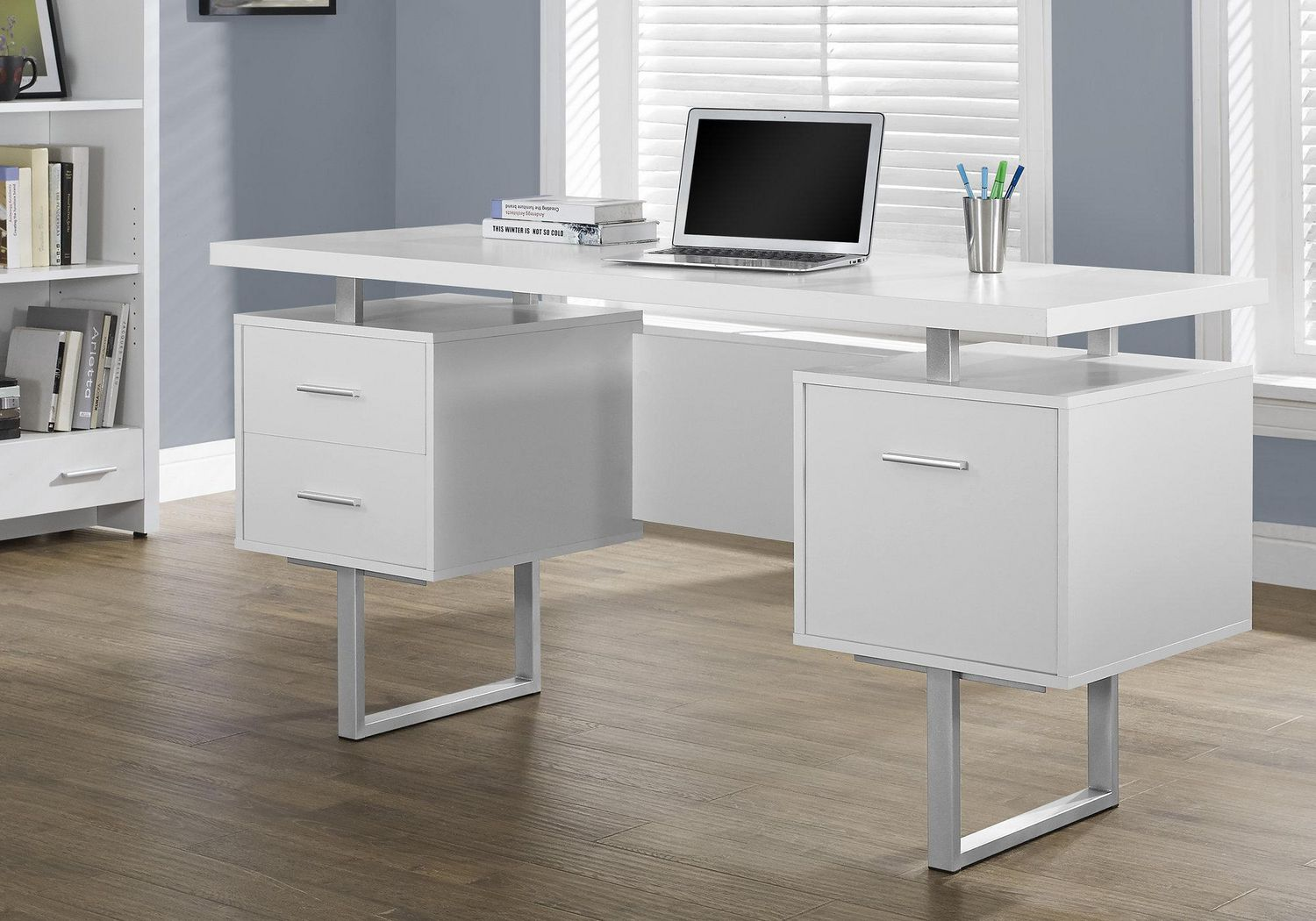decoration taffette designs image home contemporary desks furniture office small of white quality