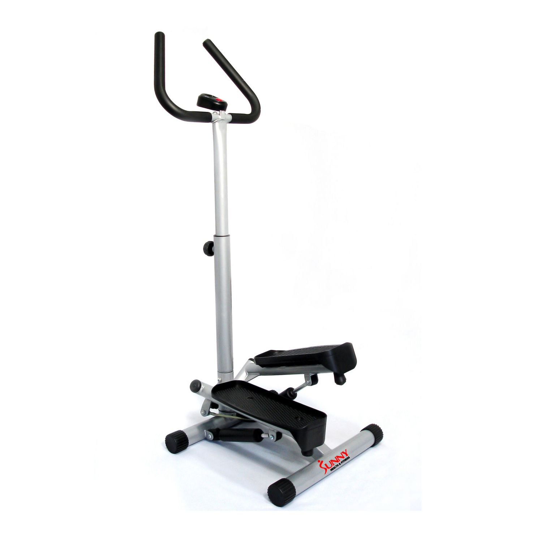 8d63af7f3cf Sunny Health & Fitness Twister Stepper with Handlebar - image 1 of 7 zoomed  image