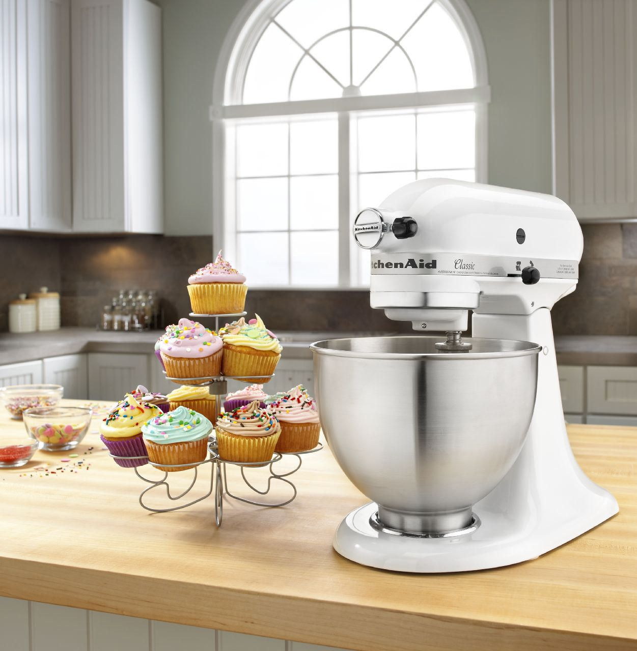 KitchenAid® Classic Series 4.5 Quart Tilt Head Stand Mixer | Walmart Canada