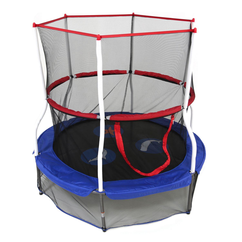 Skywalker Trampolines 60 Round Seaside Adventure Trampoline Mini Bouncer