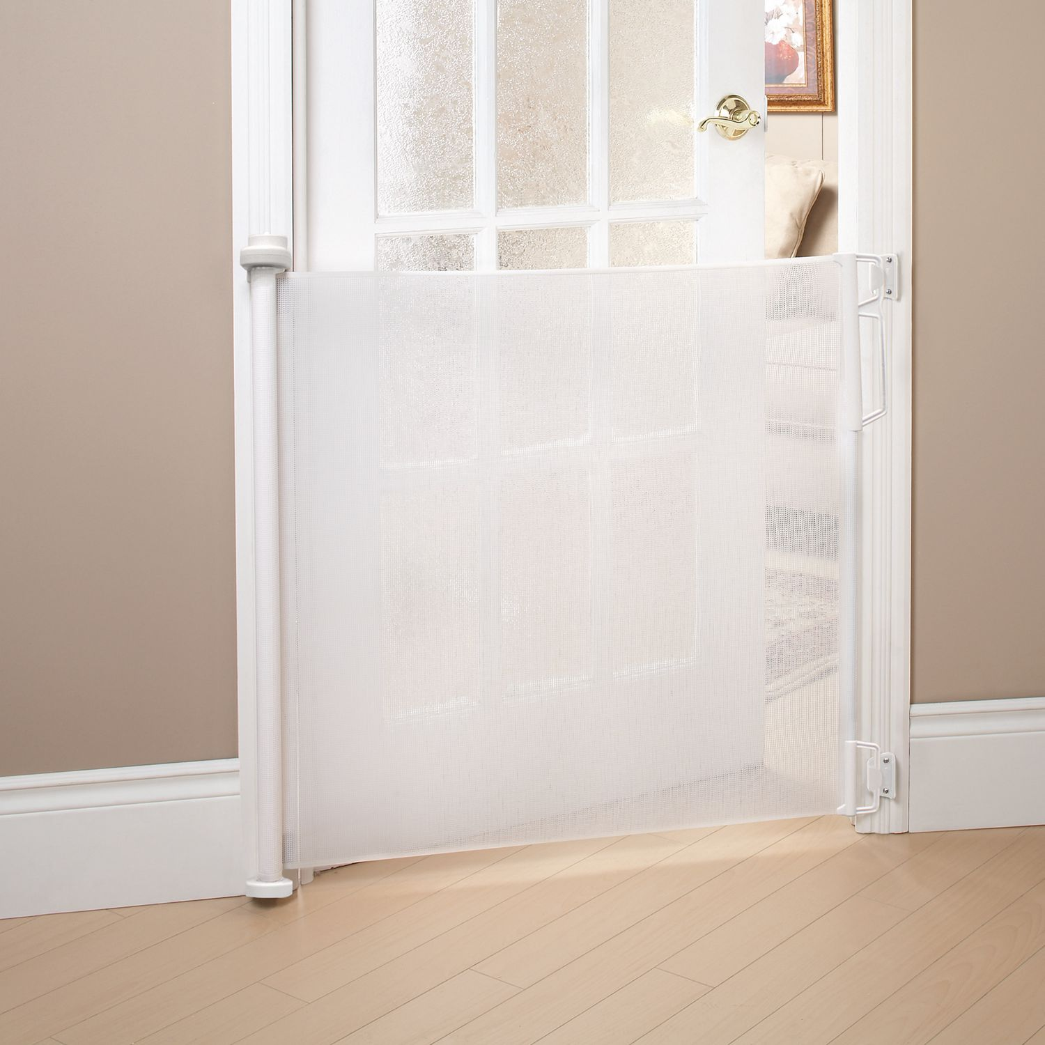 Bily Retractable Safety Gate White Walmart Canada