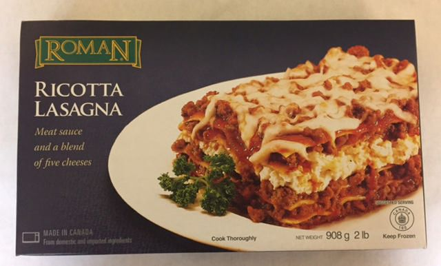 Roman Cheese Roman Ricotta Lasagna With Meat Sauce And A Blend Of Five Cheeses