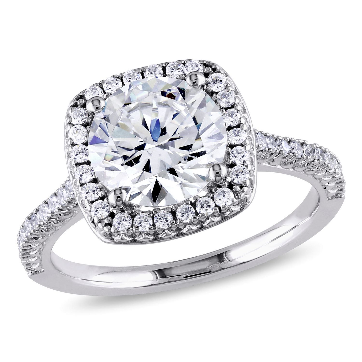 ring rings canada miabella ip accent sterling silver flower diamond en walmart engagement