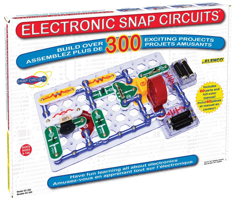 Elenco Snap Circuits 300 Walmart Canada Video