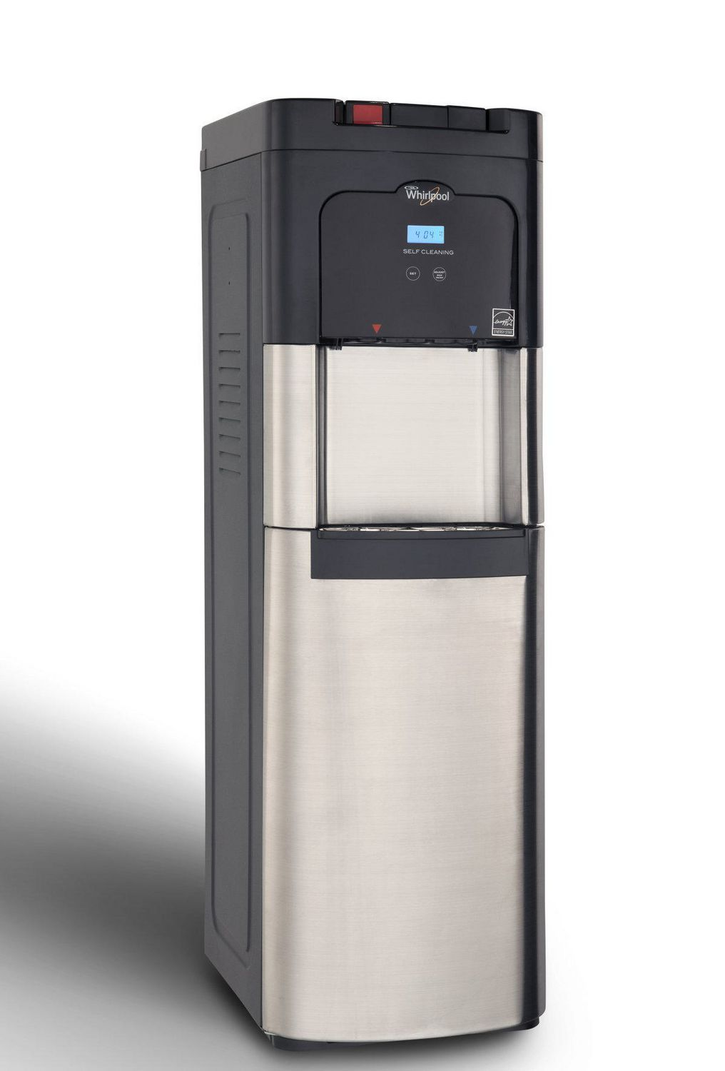 Hot And Cold Water Cooler Dispenser Whirlpool Self Cleaning Bottom Loading Hot And Cold Water Cooler