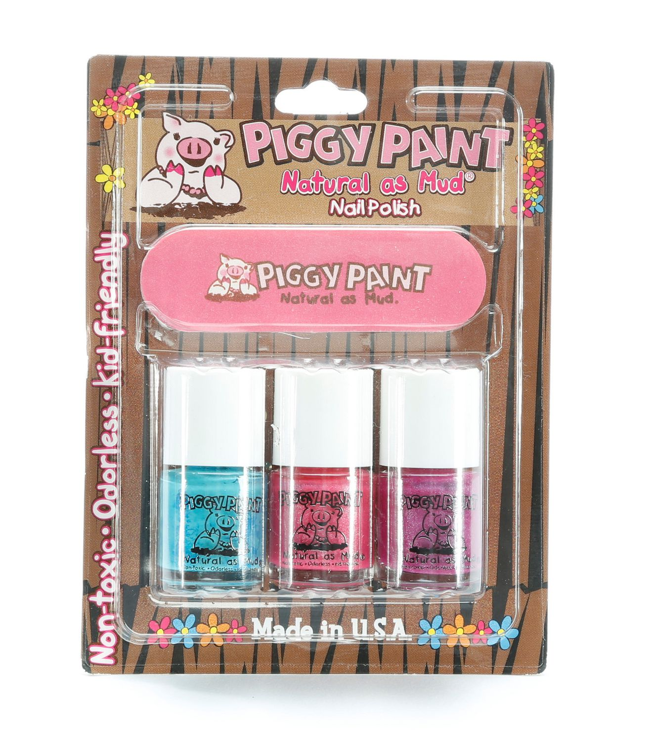 Piggy Paint Natural as Mud Nail Polish Set | Walmart Canada