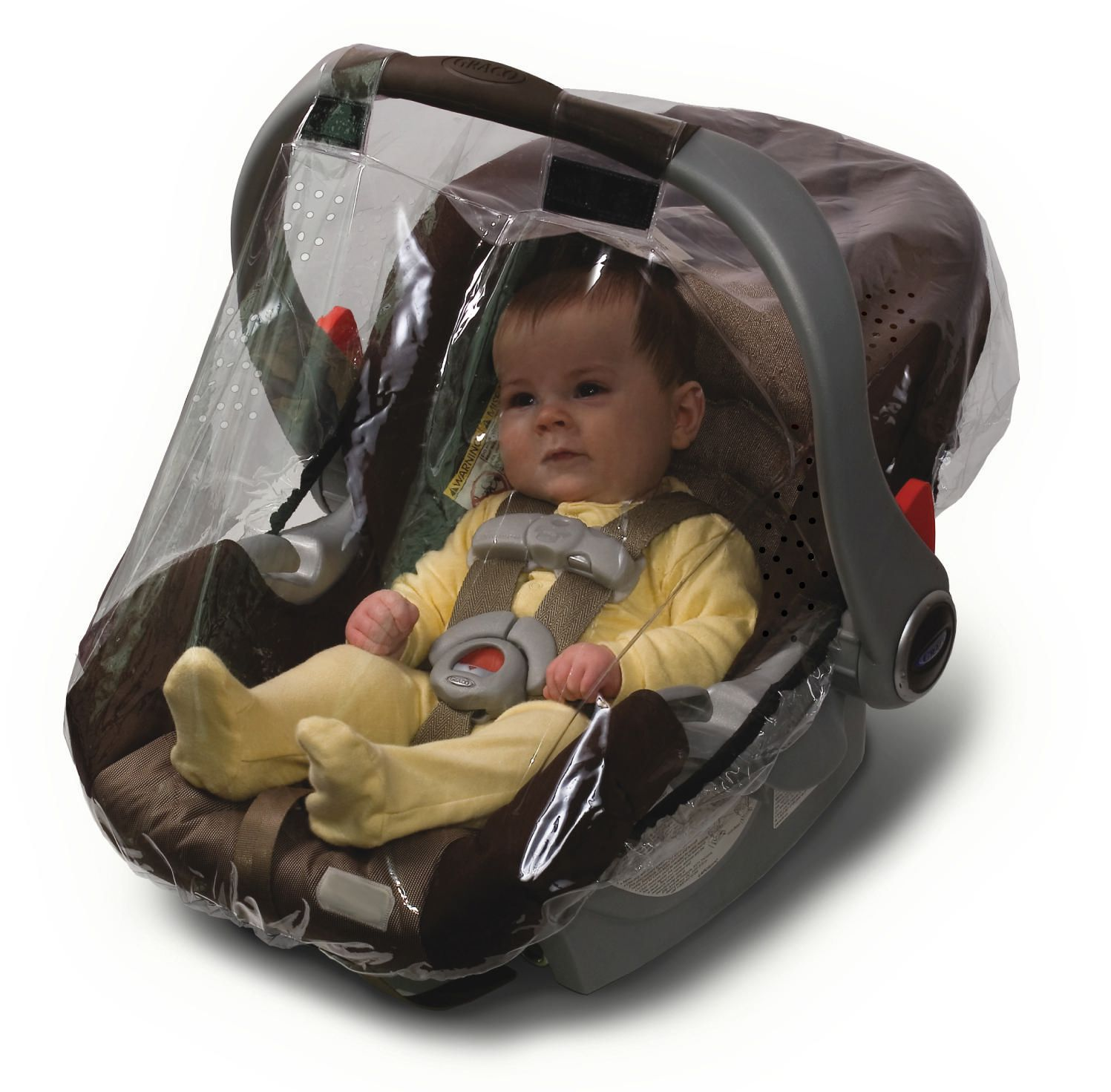 Plastic Cover For Baby Car Seat - Velcromag