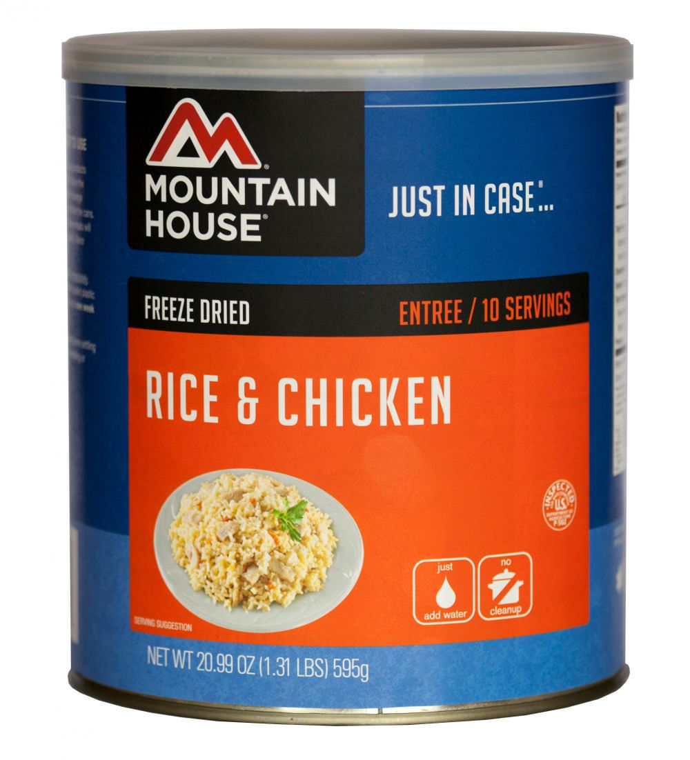 Mountain House Rice and Chicken | Walmart Canada