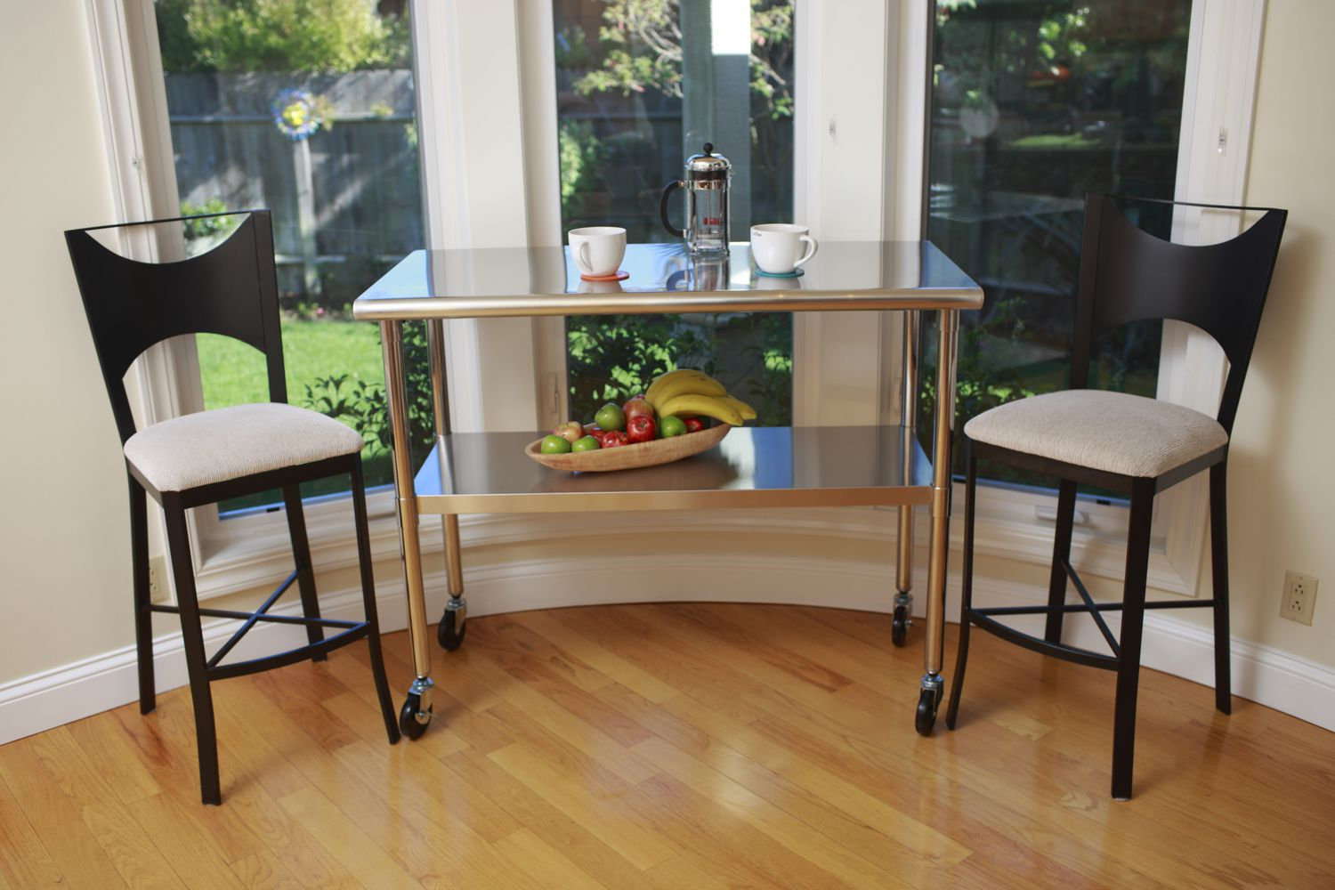 table on wheels. trinity ecostorage™ nsf stainless steel prep table with wheels | walmart canada on
