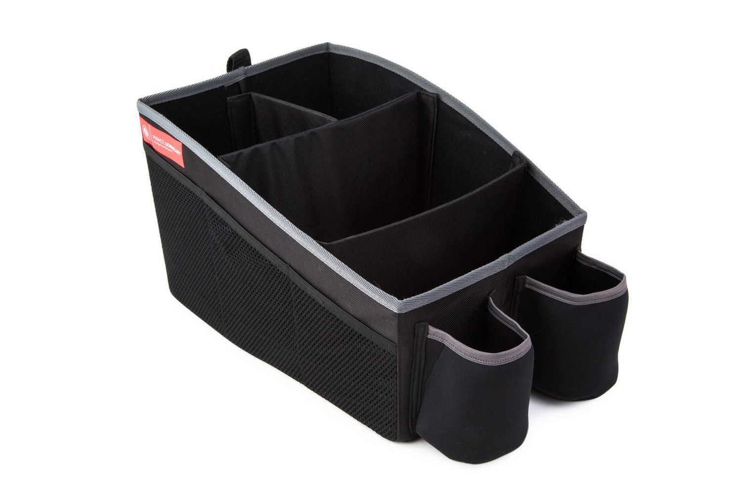 Prince Lionheart Travel Organiser insulated drink holders /& 6 side pockets customisable cargo area