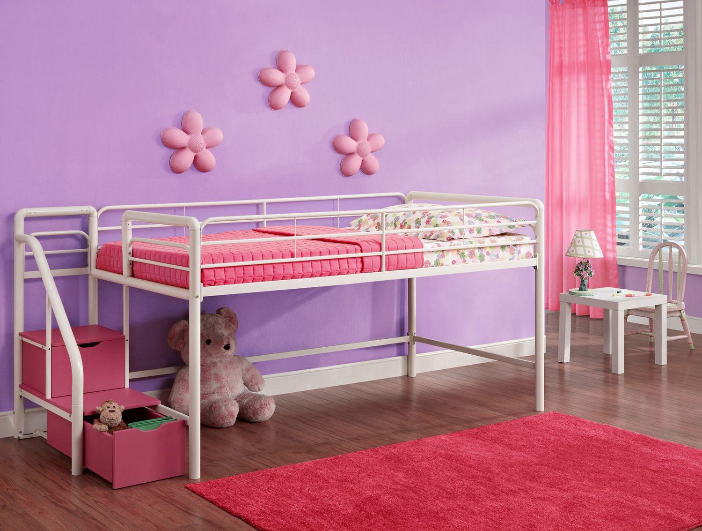 Dhp Junior Twin Loft Bed Storage Steps Walmart Canada