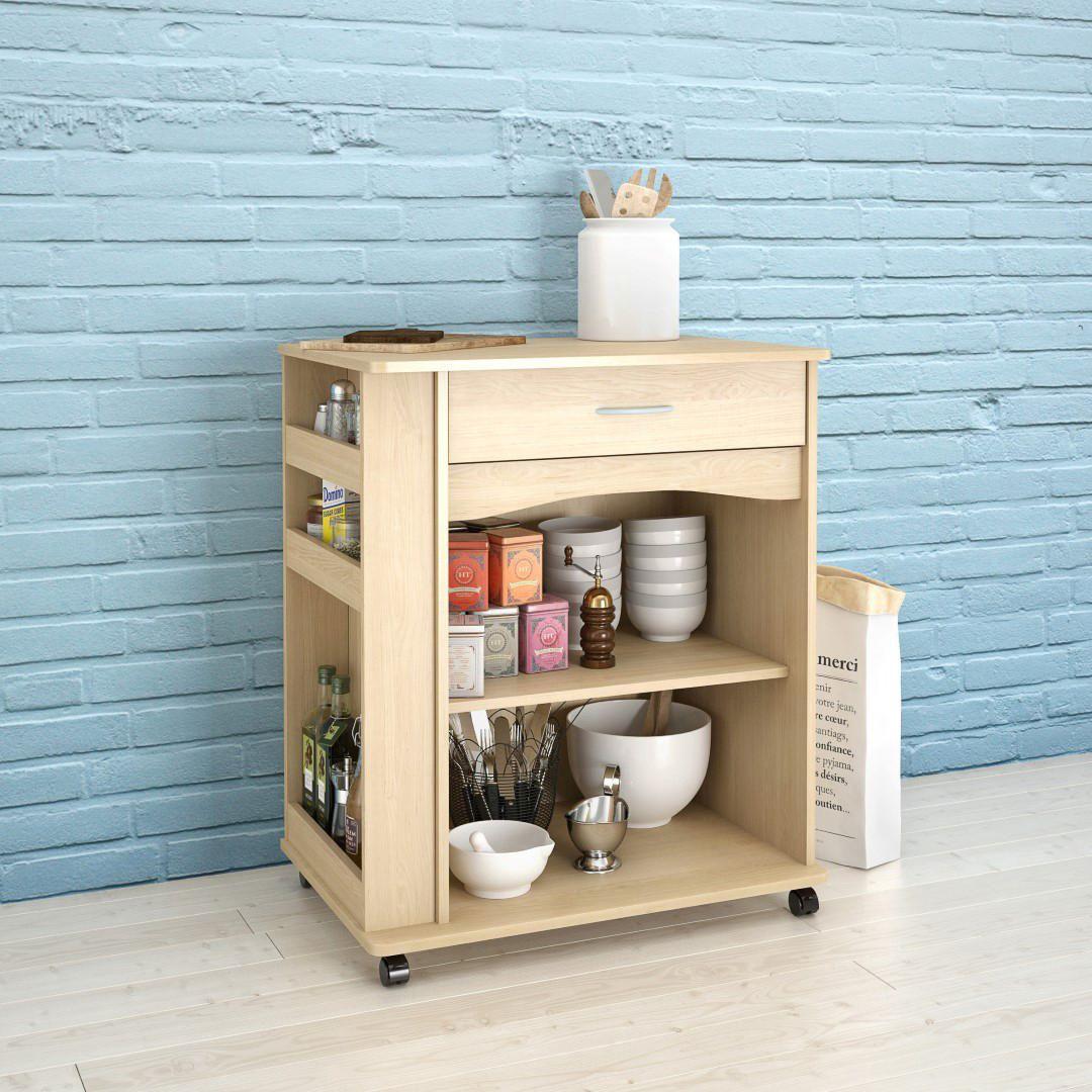 Microwave Cart, Natural Maple #597 | Walmart Canada