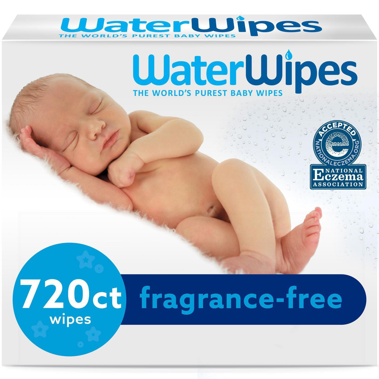 60 Count Per Pack WaterWipes Sensitive Baby Wipes